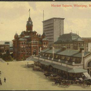 Market Square. COWA. Martin Berman Postcard Collection.