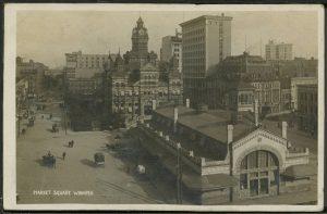 Market Square. COWA. Martin Berman Postcard Collection (vol. 4C).