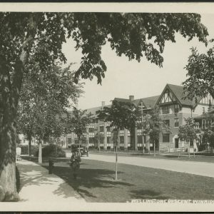 Wellington Crescent. COWA. Martin Berman Postcard Collection (vol. 4D).