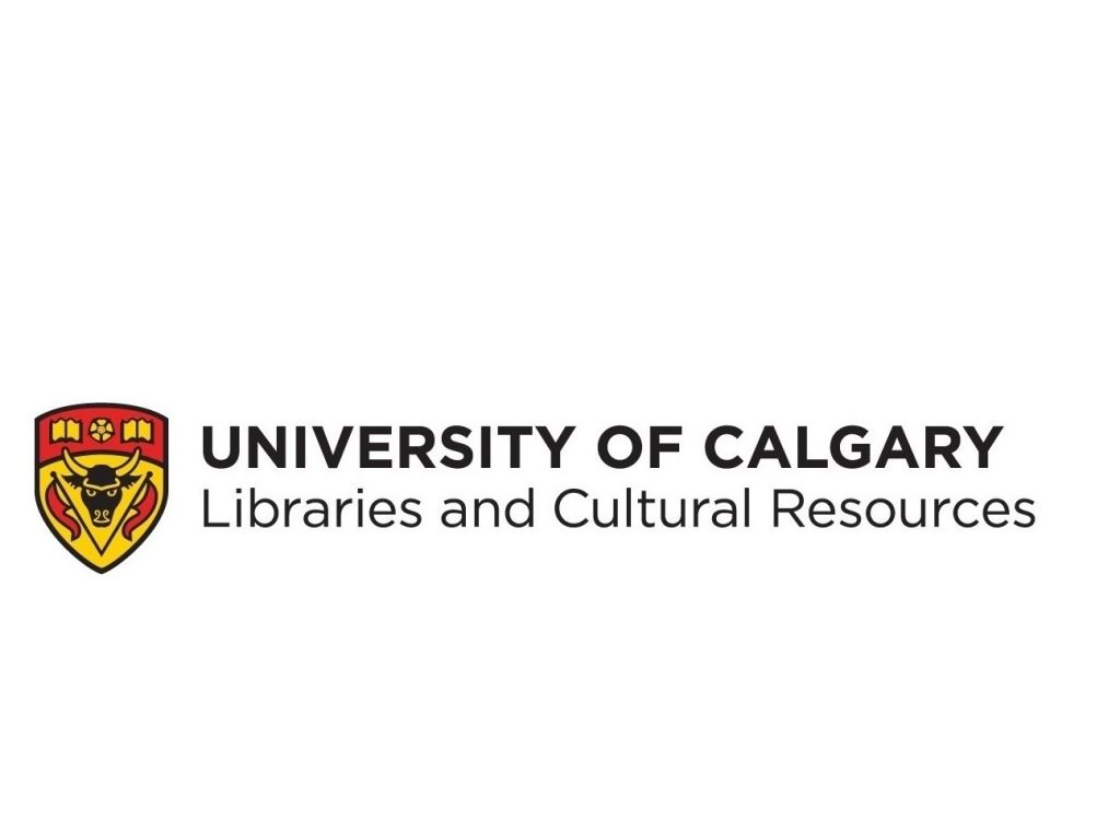 University of Calgary Libraries and Cultural Resources logo, featuring the University of Calgary crest.