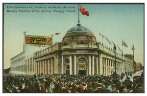 Board of Trade/Industrial Bureau building. COWA. Martin Berman Postcard Collection (vol. 1C)