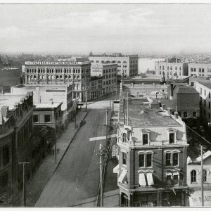 View of the Telegram building on McDermot Avenue. COWA. Photograph Collection (OP3 file 1)