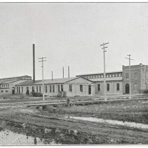 Manitoba Bridge and Iron Works buildings. Source: City of Winnipeg Archives. Photograph Collection. Reference number: OP3 File 5.